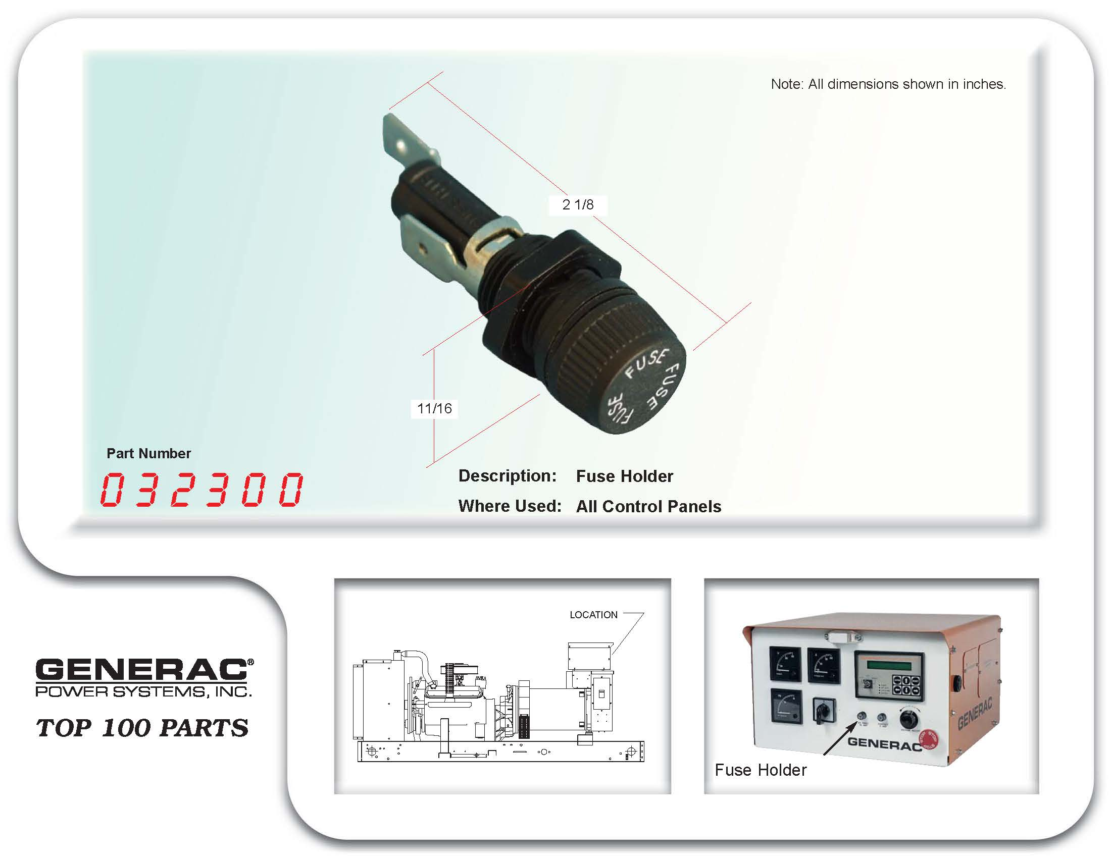 Fuse Holder Generator Parts Generac Kohler Home Water Pumps Box The Product Is Already In Wishlist Browse